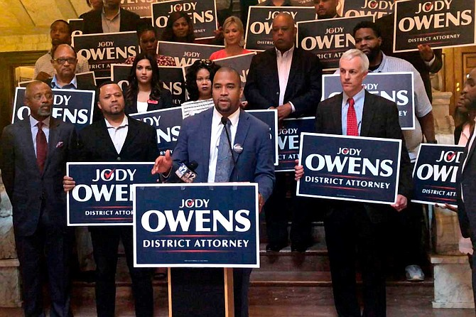 Jackson Mayor Chokwe A. Lumumba endorsed Jody Ownens, a civil-rights attorney, in the race for Hinds County district attorney.