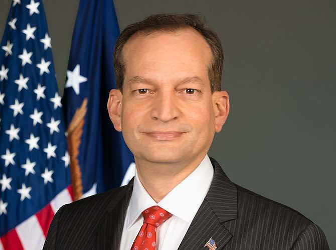 Secretary Alexander Acosta accounted his resignation from his Cabinet post amid allegations that his plea deal with Jeffery Epstein as a Florida prosecutor was too lenient.