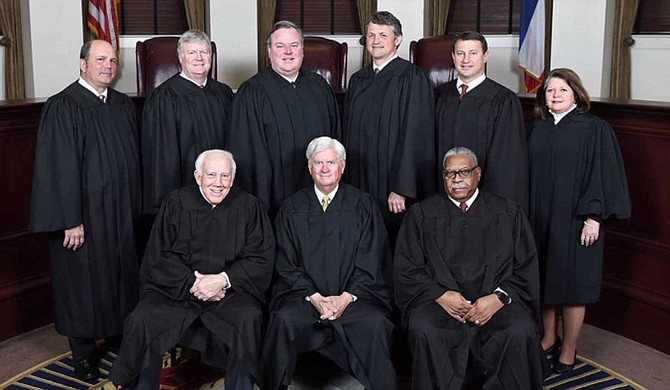 The Mississippi Supreme Court has suspended Frank Sutton of Hinds County Justice Court for 30 days without pay after a professional group found he violated standards of conduct by improperly helping one person charged with prostitution and trying to help another charged with marijuana possession. Photo courtesy Mississippi Supreme Court
