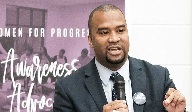 Jody Owens will take over the Hinds County district attorney's seat from Robert Shuler Smith. He won the Aug. 6 primary with no Republican challenger in November. Photo by Ashton Pittman