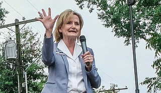 U.S. Sen. Cindy Hyde-Smith has received $25,000 from a group that represents the executives of poultry business where ICE agents arrested immigrant workers at plants last week. Photo by Ashton Pittman