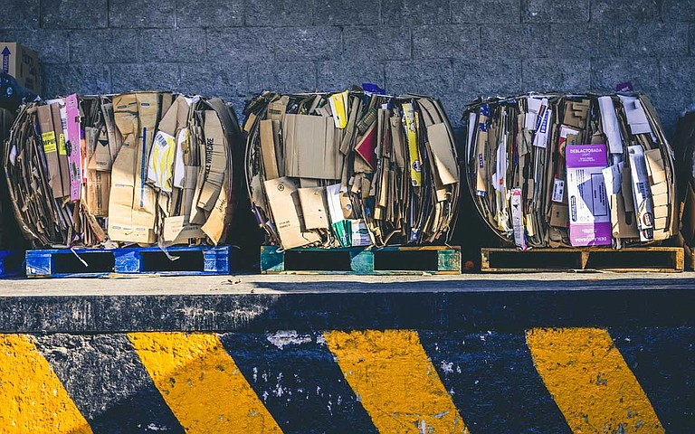 The City of Jackson is suspending its curbside recycling program starting Sept. 1., joining more than 300 cities across the country that have also suspended their recycling program. Photo by Alfonso Navarro on Unsplash