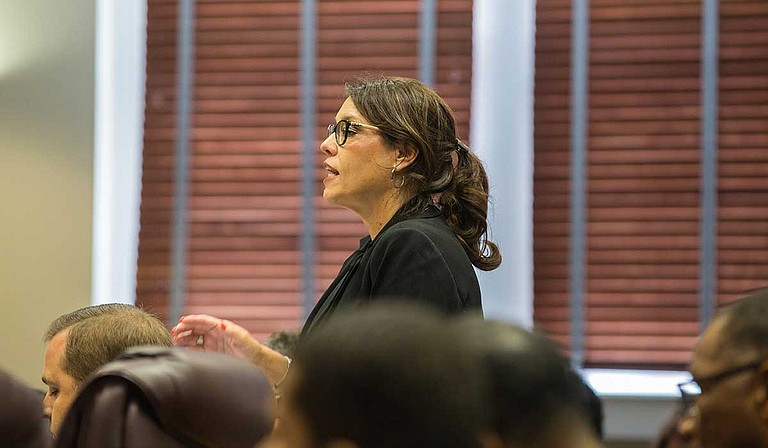 Commission on School Accreditation Chief Accountability Officer Paula Vanderford said if the state board accepts their recommendation to eliminate the U.S. history end-of-course exam, the decision will go into effect for the 2020-2021 school year. Photo by Imani Khayyam
