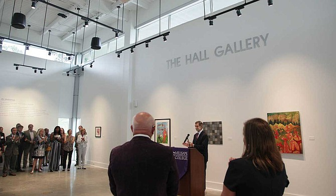 Millsaps College held a dedication ceremony for its new Windgate Visual Arts Center on Thursday, Sept. 5. Photo courtesy Millsaps College