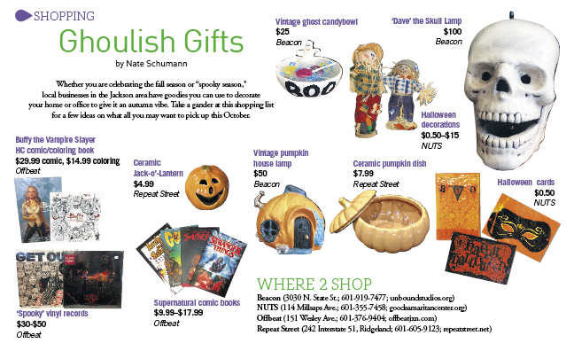 Ghoulish Gifts