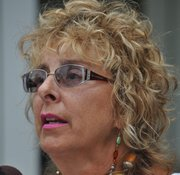 Diane Derzis spoke with JFP reporter R.L. Nave outside the courthouse after the hearing. July 11, 2012.