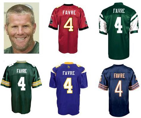Hopefully for Brett Favre and his fans, this won't happen.
