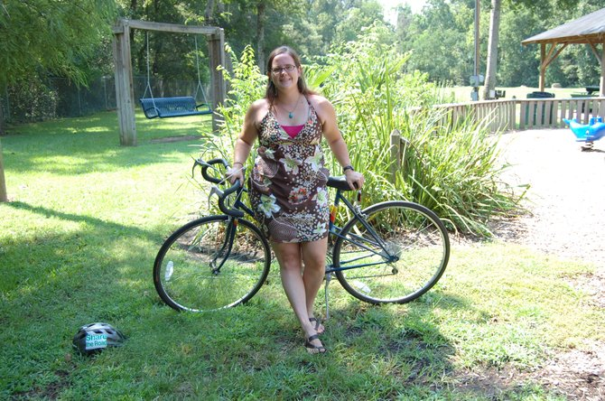 Bike Walk Mississippi director Melody Moody believes expansion of biking and walking opportunities would have a positive impact on health and the economy.