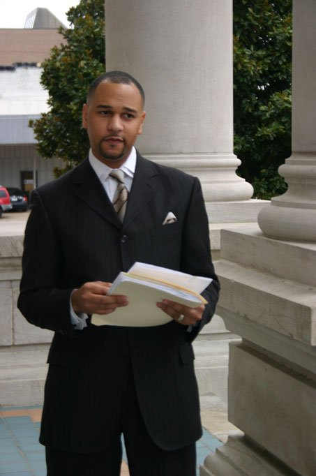 Greenwood attorney Carlos Moore