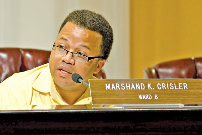 Ward 6 Councilman and Budget Committee Chairman Marshand Crisler