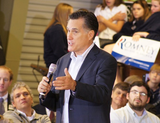 Mitt Romney is running for president on a platform of returning many costs to the states.