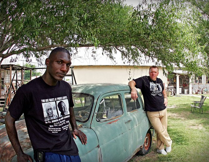 With a debut album and an energetic live show, Cedric Burnside (left) and Lightnin' Malcolm are ready to show the world their twist on hill-country blues.