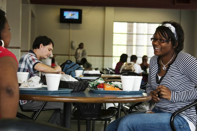 Hinds Community College student Brandy Swaggard feels her career in health care is safe, but expects the next government to do more to help the people of this nation.