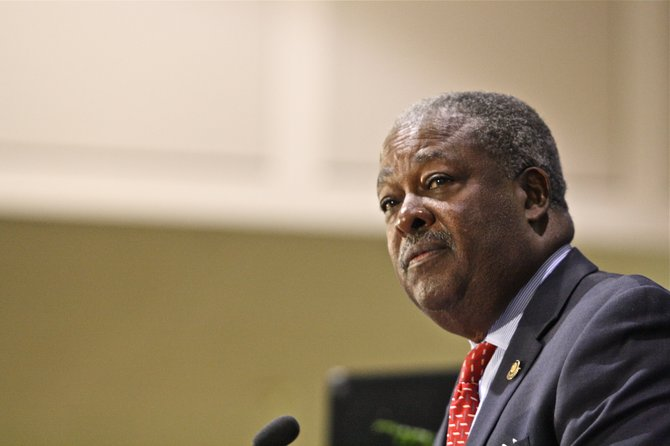 """Mayor Harvey Johnson Jr. said """"Jackson is Good"""" in his State of the City Address Wednesday, July 11."""