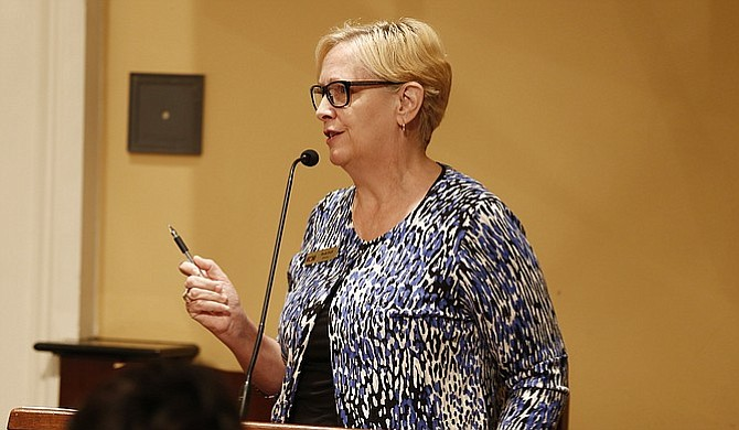 Beth Poff, the executive director of the Jackson Zoo, warned the city council of accreditation issues that could arise out of budget cuts to the facility  the same day that the zoo's board decided to withdraw its membership from the national accreditation organization, the Association of Zoos and Aquariums.