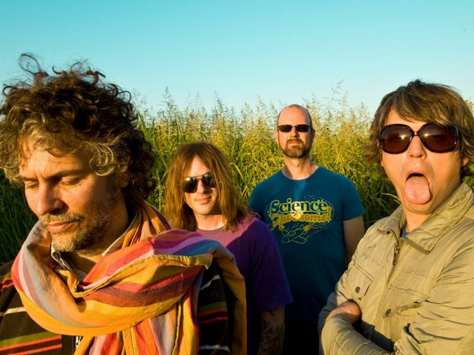 The Flaming Lips will attempt to play a world-record eight concerts in 24 hours, including five in Mississippi.
