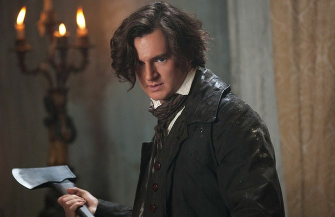 """A new side of Honest Abe, played by Benjamin Walker, comes out in """"Abraham Lincoln: Vampire Hunter."""""""