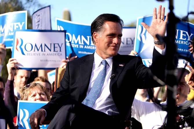 Mitt Romney visited Jackson July 15 for a fundraiser.