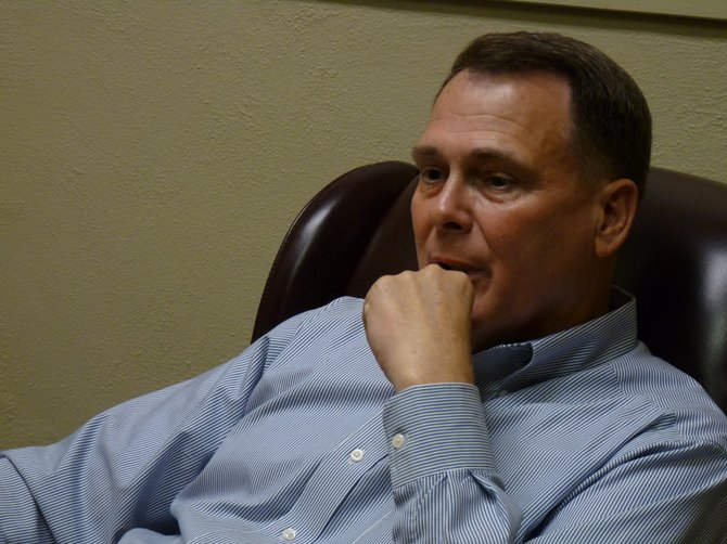 Phil Fisher, Hinds County District 4 supervisor, is thinking about suing over new county redistricting maps.