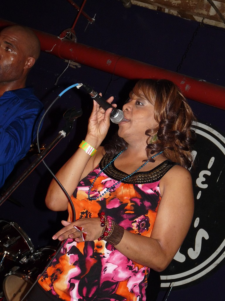"""Lady Mary"" Henderson will front the Time to Move Band again at the JFP Chick Ball, and pack the dance floor as always. Time to Move is the headline act, starting at 10:15 p.m."