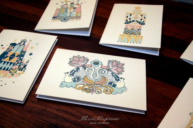 The Mississippi Craft Show features up-and-coming artists from across the state, such as Kristen Ley of Thimblepress.