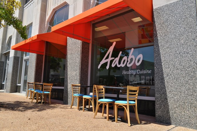 Luis Bruno's Adobo could become the first certified green restaurant in Mississippi.