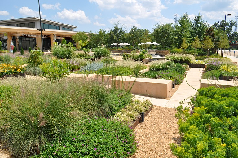The Art Garden at the Mississippi Museum of Art, which opened last year, allows the museum to host many more community events.