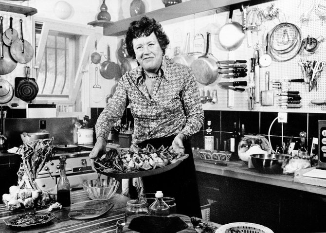 Julia Child was one of the TV chefs that inspired Dan Blumenthal to pursue a culinary career.