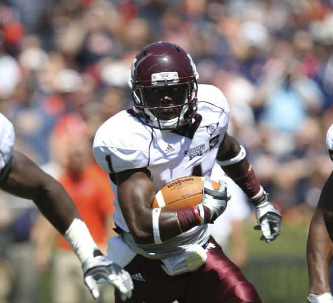 Mississippi State University's Chad Bumphis broke an MSU record for touchdown receptions this weekend.
