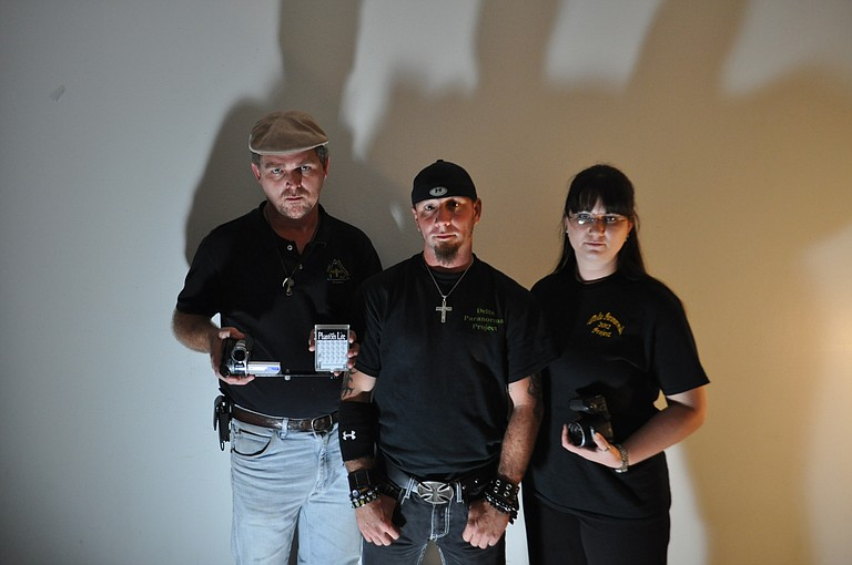 Co-founder and videographer Rob Hood, co-founder and lead investigator David Childers and investigator Kassie Kirby chase the mysteries and spirits of the South as members of the Delta Paranormal Project.