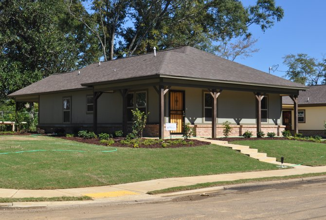 Habitat For Humanity/Metro Jackson recently completed 22 of 27 new homes in the formerly derelict Englewood Gardens neighborhood, with the help from the new home owners.