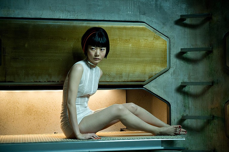 """Like the other talented actors in """"Cloud Atlas,"""" Doona Bae portrays multiple characters, including Somni 451 from the year 2144."""