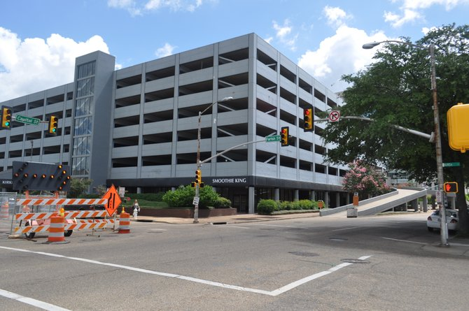 The city canceled a ground-breaking ceremony Monday to begin the project to turn Capitol Street back into a two-way street. It's still happening, though.