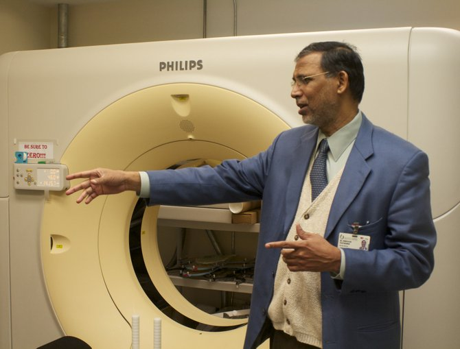 Dr. Srinivasan Vijayakumar, deputy director of the UMMC Cancer Institute, believes the university will get National Cancer Institute designation within the next five years.