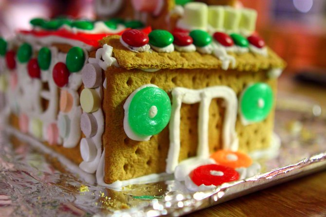 Although modern gingerbread, as in holiday houses, is sweeter and more decorated, in Emily Dickinson's day, gingerbread was a dense cake.