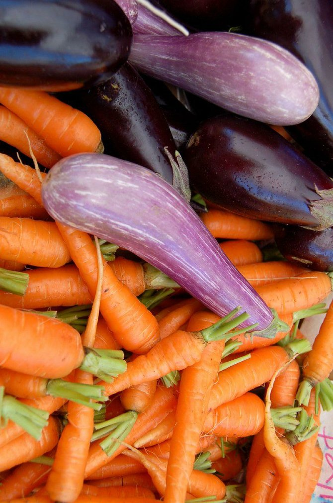 Planting certain organic vegetables and plants can actually improve the soil by drawing toxins out.