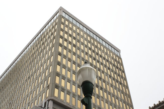 The Capital Towers building on Congress Street.