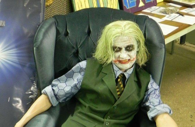 Jason Pollan as the Joker at Pulp Con 2012.