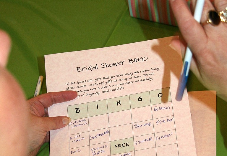 Bridal Bingo is a great way to break the ice between different groups of friends that might not know one another.