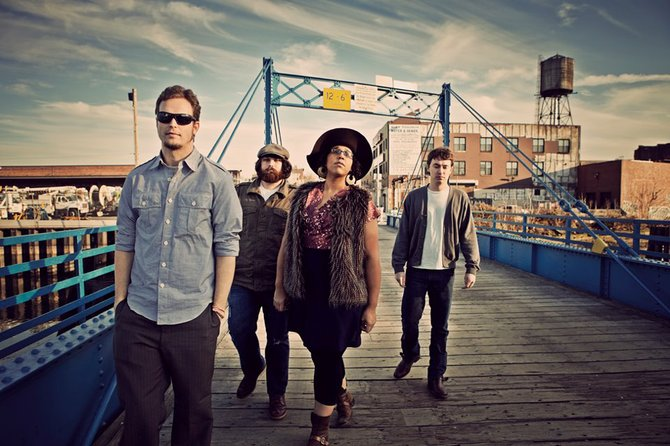 Grammy-nominated band Alabama Shakes headlines the Mal's St. Paddy's Street Dance.