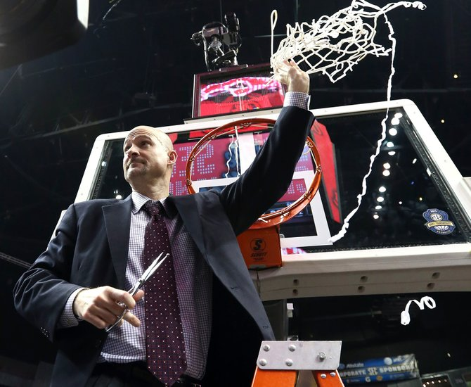 Coach Andy Kennedy is taking Ole Miss to the NCAA Tournament after all.