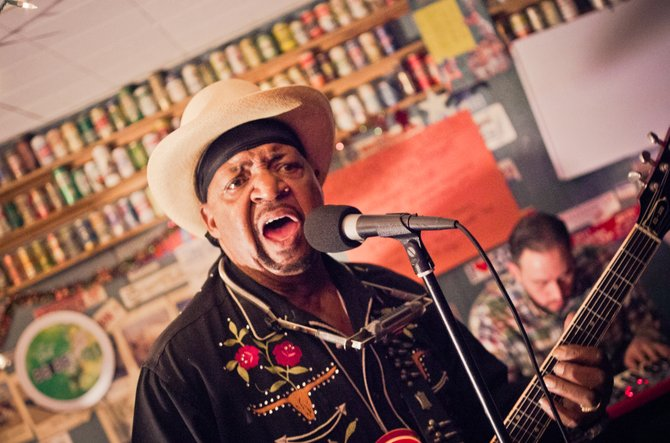 New Orleans blues guitarist and vocalist Guitar Lightnin Lee performed at CS's in Jackson last month. The Ninth Ward resident is bringing his mix of blues and New Orleans R&B to Martin's Lounge April 19.