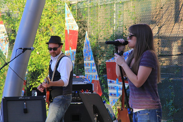 The High Note Jam combines local music, outdoor art, and community bonding each spring and summer.