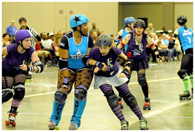 The Magnolia Roller Vixens will strut—and skate—their stuff at Jackson Streets Alive.