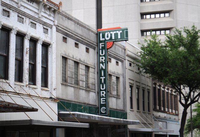 Lott Furniture Company is located at 216 W. Capitol St., across the street from the newly-revamped King Edward Hotel and less than a block in either direction from ground zero of Jackson's two biggest ongoing renovation projects: Farish Street and the two-waying of Capitol Street.