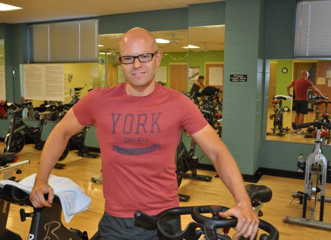 Name: Chuck Shelton  Age: 37  Occupation: Fitness Trainer and Weight-Loss Coach, YMCA