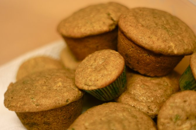Okra muffins are a great way to sneak in an unexpected vegetable.