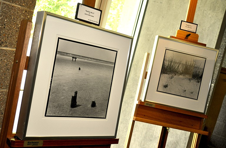 "The ""Contemplations"" exhibit runs at the Mississippi Library Commission through Aug. 29."