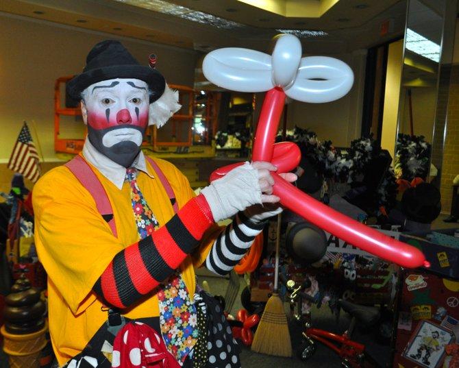Name: Jeff Roebuck  Age: 50  Job: Inky the Clown