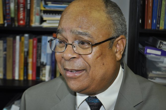 "James ""Lap"" Baker, who recently retired from the Hinds County Public Works Department, wants to put infrastructure improvements back on track as the county's District 4 supervisor."